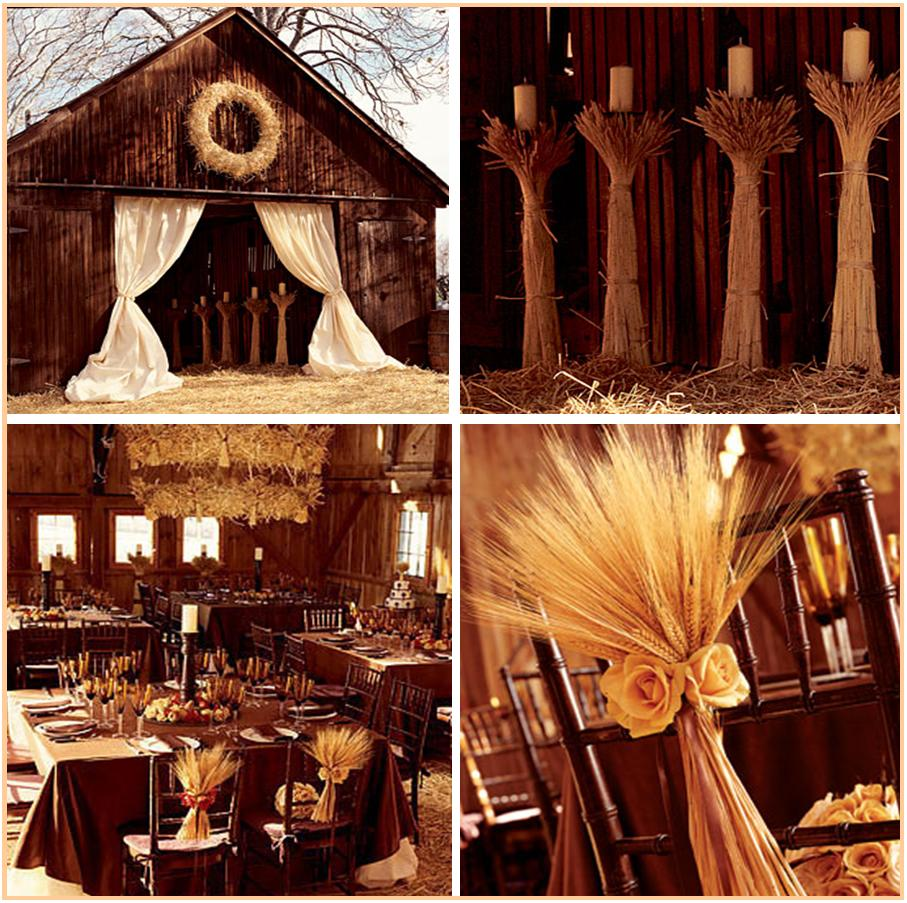 Country Wedding Centerpieces Ideas: Fall Wedding Inspiration!