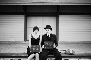 charlie-chaplin-silent-movie-inspired-engagement1