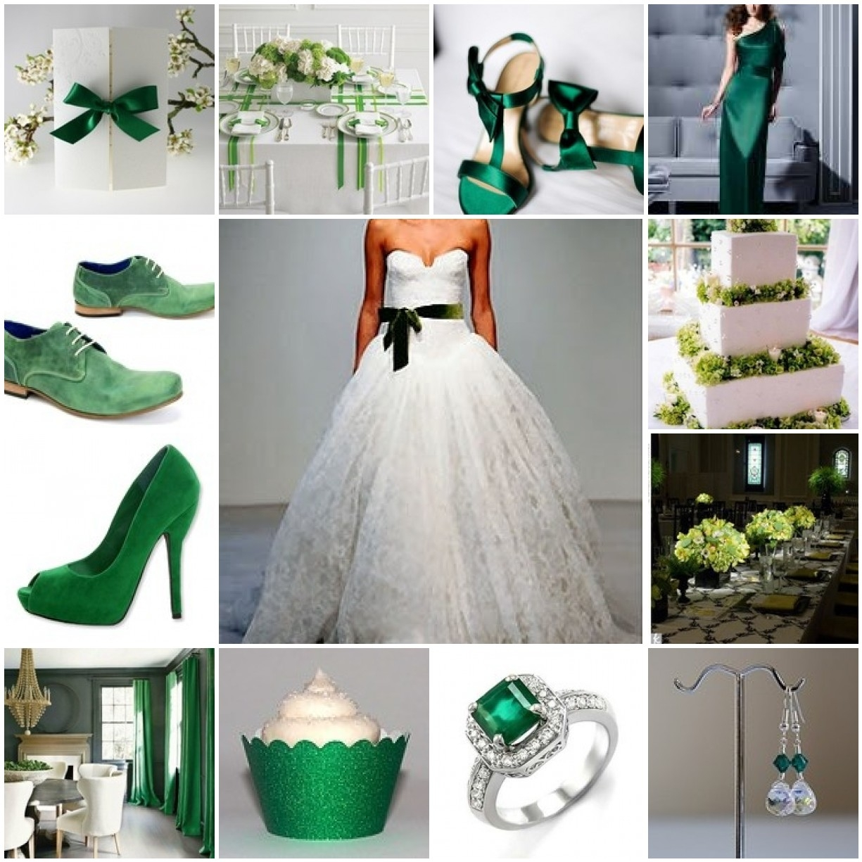 Wedding Ideas And Inspirations: 2013 Pantone Color Of The Year: Emerald Green