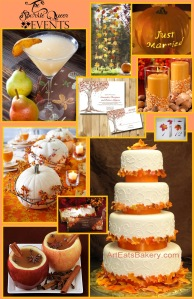 fall wedding inspiration board v2 TSQE