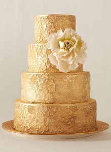 gold-wedding-cake-3