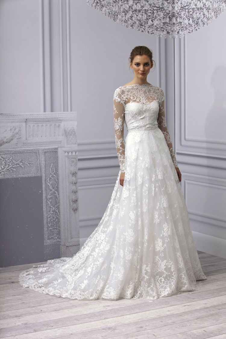 2013 Wedding Trend: Sleeved Wedding Gowns | Inspirations Events
