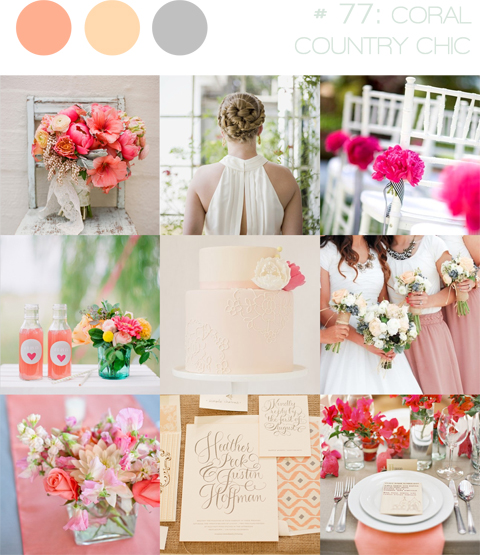Gorgeous Coral Wedding Inspiration!