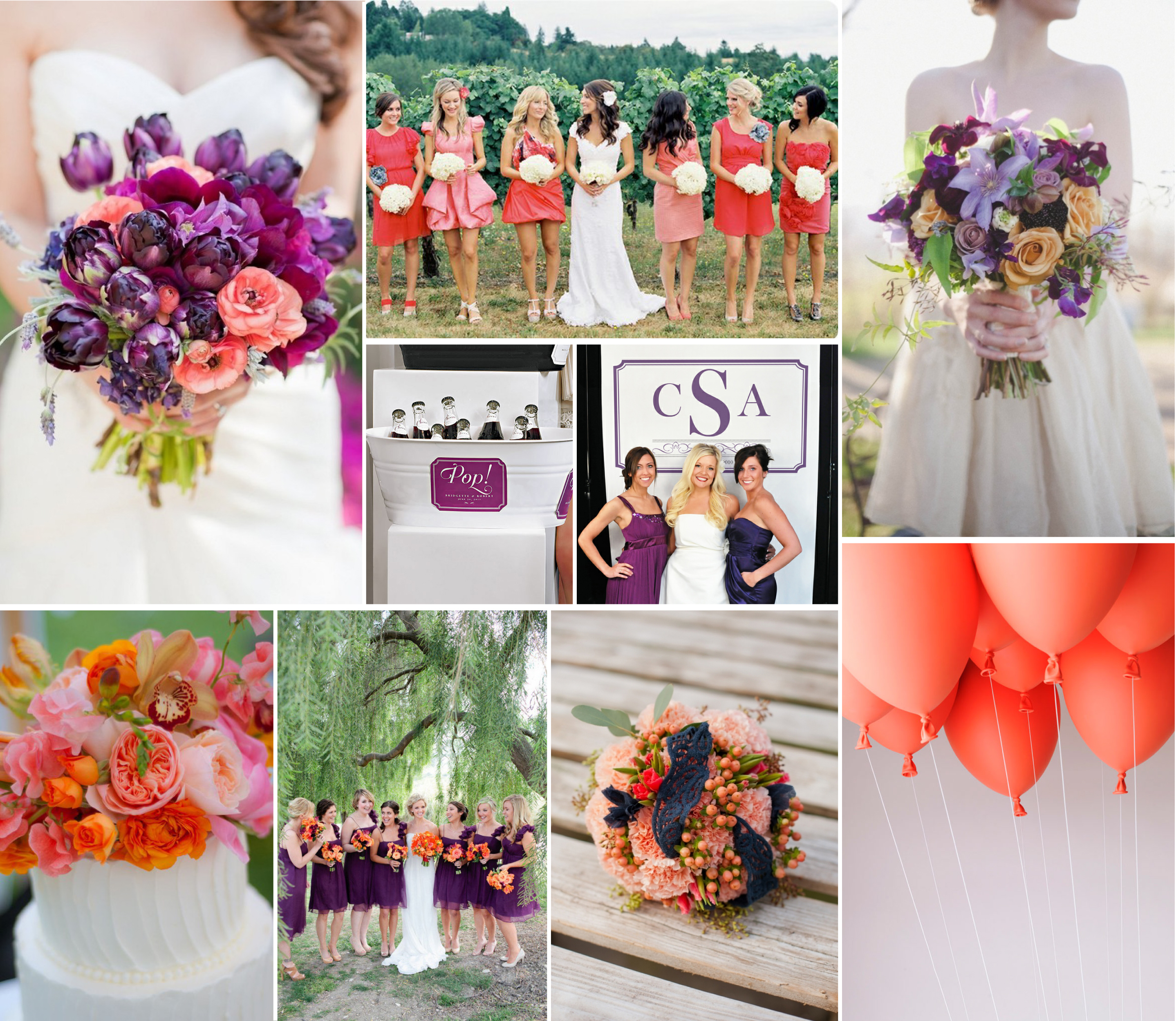 Coral Wedding: Gorgeous Coral Wedding Inspiration!