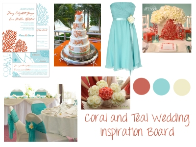 Coral_Teal_Inspiration_Board