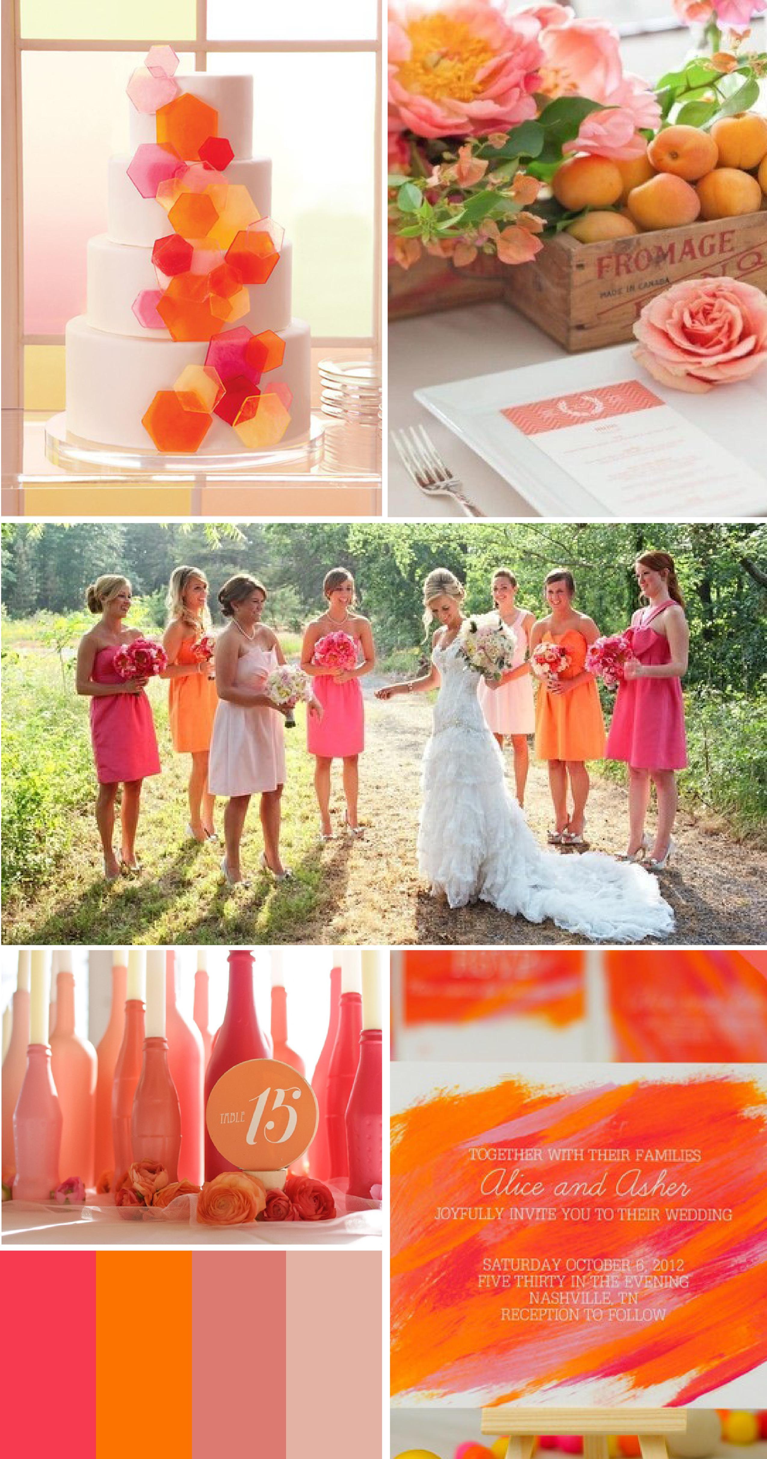 Gorgeous Coral Wedding Inspiration!