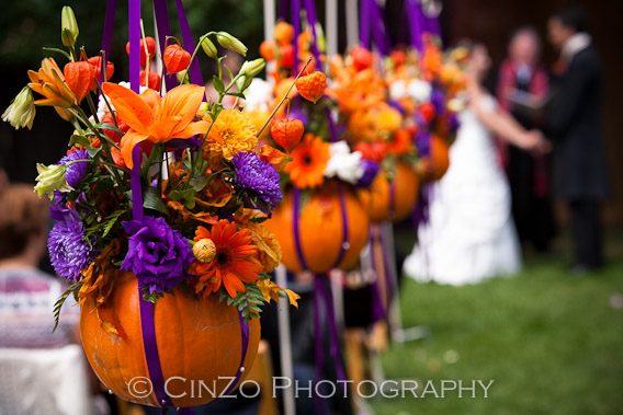Pumpkin Inspired Fall Wedding Inspiration! | Inspirations Events