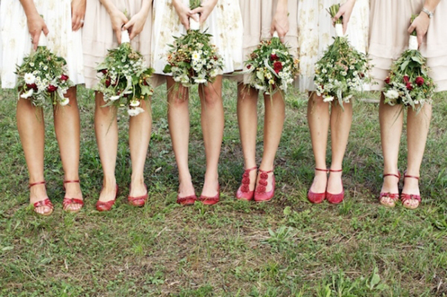 Trendy Mix And Match Bridesmaid Dresses