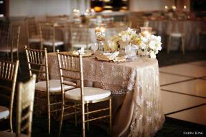Elegant-gold-vintage-lace-wedding